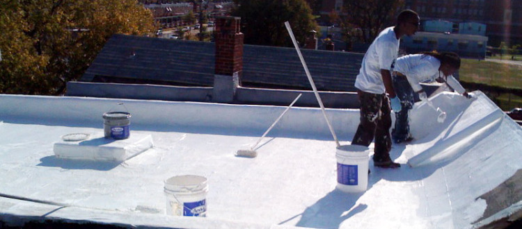Installing a cool roof